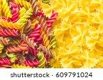 pasta | Shutterstock . vector #609791024