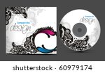 vector cd cover design template ... | Shutterstock .eps vector #60979174