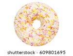 One Vanilla Glazed Donut Pastr...