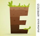 logo font e underground with...   Shutterstock .eps vector #609819215
