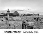al aqsa mosque  | Shutterstock . vector #609832451