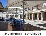 rottnest hotel bar and bistro... | Shutterstock . vector #609855395