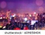 Colorful City Buildings...