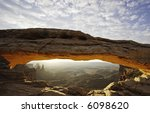 mesa arch  canyonlands national ... | Shutterstock . vector #6098620