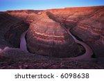 goosenecks state park  ut | Shutterstock . vector #6098638