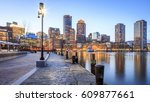 Panoramic View Of The Boston...