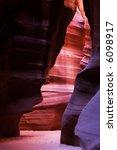 upper antelope canyon  az | Shutterstock . vector #6098917