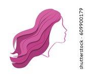 internacional woman day... | Shutterstock .eps vector #609900179