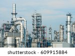 close up industrial zone the... | Shutterstock . vector #609915884