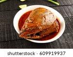 Asian Cuisine Hot And Spicy Bi...