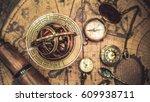 Antique Nautical Sundial...