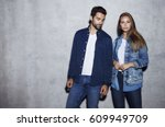 Good Looking Couple In Denim ...