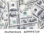 close up view of cash money...   Shutterstock . vector #609995729