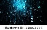 Blue Bytes Of Binary Code...