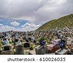 oruro   bolivia   february 24 ... | Shutterstock . vector #610026035