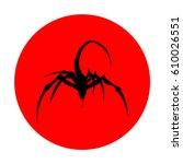 a mark of mutants  the... | Shutterstock .eps vector #610026551
