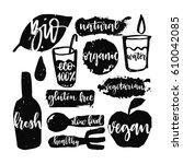 bio set calligraphic hand...