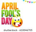 illustration of april fools day