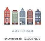 Amsterdam City Buildings Set....