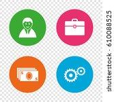 businessman icons. human... | Shutterstock .eps vector #610088525