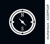 compass icon vector illustration   Shutterstock .eps vector #610099169