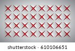 realistic texture  gray surface ... | Shutterstock .eps vector #610106651