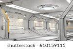 3d rendering of realistic sci... | Shutterstock . vector #610159115