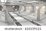 3d rendering of realistic sci... | Shutterstock . vector #610159121