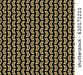 geometric vector pattern with... | Shutterstock .eps vector #610171211