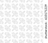 damask vector classic light... | Shutterstock .eps vector #610171229