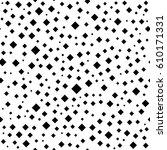 geometric abstract vector black ... | Shutterstock .eps vector #610171331