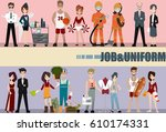 people group different... | Shutterstock .eps vector #610174331