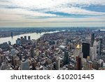 Aerial View Of New York City...