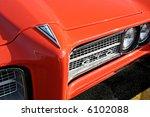 front of 1969 orange pontiac gto | Shutterstock . vector #6102088