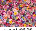 Multicolored Flower Wall...