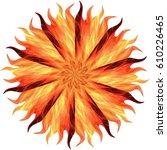 sunbeams | Shutterstock . vector #610226465
