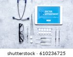 concept of appointment to...   Shutterstock . vector #610236725