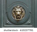Ancient Bronze Door Knocker...
