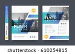 poster flyer pamphlet brochure... | Shutterstock .eps vector #610254815