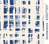 vector tie dye seamless pattern.... | Shutterstock .eps vector #610277357