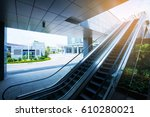 central business district with... | Shutterstock . vector #610280021