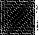 triangular blocks wallpaper.... | Shutterstock .eps vector #610292081