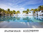 Luxurious Swimming Pool Of A...