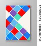 abstract design templates.... | Shutterstock .eps vector #610300121
