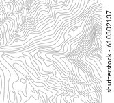topographic map background... | Shutterstock .eps vector #610302137