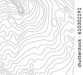 topographic map background... | Shutterstock .eps vector #610302191
