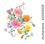 Beautiful Watercolor Bouquet...