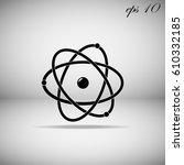 atom | Shutterstock .eps vector #610332185