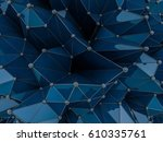 abstract geometrical background ... | Shutterstock . vector #610335761