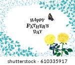 Father's Day Vintage Greeting...